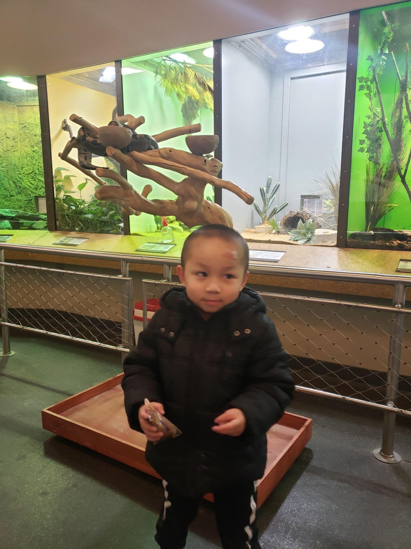 child exploring at the children's museum